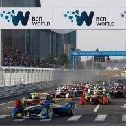 Salida del primer ePrix de la Fórmula E - LaF1