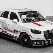 La marca utilizará un Audi Q2 Concept a escala 1:8 para mostrar esta tecnología - SoyMotor