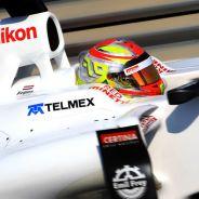 Robin Frijns al volante de un Sauber en Abu Dabi - LaF1
