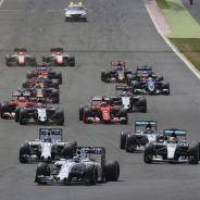Salida del GP de Gran Bretaña - LaF1.es