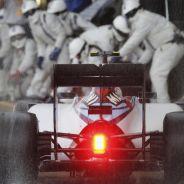 Valtteri Bottas entrando a boxes - LaF1.es