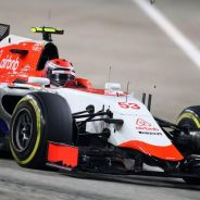Imagen del debut de Rossi en la Fórmula 1 durante el Gran Premio de Singapur - LaF1