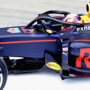 Gasly en el test de Silverstone con el halo - LaF1