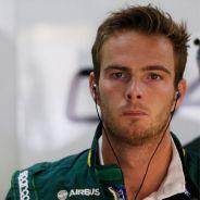 Giedo van der Garde en 2013, año en el que pilotó para Caterham - LaF1
