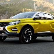 El Lada XCODE Concept ha sido una de las cuatro propuestas de la firma en el Salón del Automóvil de Moscú - SoyMotor