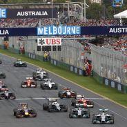 Salida del GP de Australia en 2014 - LaF1.es