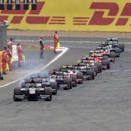 Parrilla de salida de la GP2 en Silverstone - LaF1