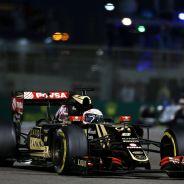 Grosjean en Abu Dabi, su última carrera con el equipo Lotus - LaF1