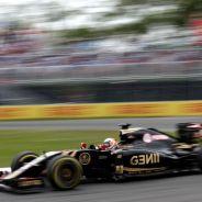 Romain Grosjean con el E23 en Montreal - LaF1