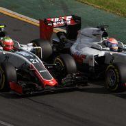 Romain Grosjean y Esteban Gutiérrez en Australia - LaF1