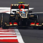 Romain Grosjean en la India - LaF1