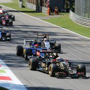 Romain Grosjean en el GP de Italia - lAF1