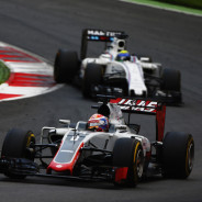 Romain Grosjean por delante de Felipe Massa - LaF1