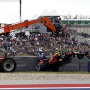 La grúa retira el coche de Max Verstappen, Piloto del Día en Austin - LaF1