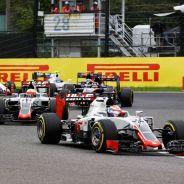 Haas colocó a sus dos coches en Q3 en Japón - LaF1
