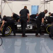 El monoplaza de Haas F1 Team ya ruge - LaF1