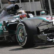 Lewis Hamilton en Baréin con el Mercedes - LaF1