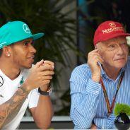 Lauda convenció a Hamilton de fichar por Mercedes y ahora tienen una gran relación - LaF1