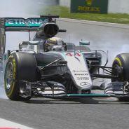Lewis Hamilton en Barcelona - LaF1