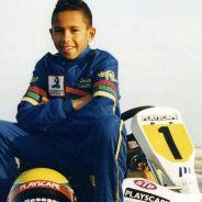 Lewis Hamilton en sus días del kárting - LaF1