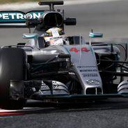 Lewis Hamilton en los tests de pretemporada - LaF1