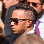 Lewis Hamilton en el funeral de Bianchi - LaF1