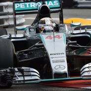 Lewis Hamilton, esta mañana en Mónaco - LaF1