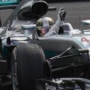 Lewis Hamilton en México - LaF1