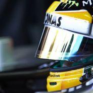 Lewis Hamilton en el Mercedes W04 en Monza - LaF1