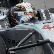 Mercedes avisa a navegantes con Hamilton primero y Rosberg tras él - LaF1