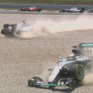 Mercedes perdió 43 puntos en el GP de España - LaF1