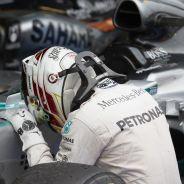 Hamilton da las gracias al coche que le lleva directo a su tricampeonato - LaF1