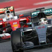 Lewis Hamilton y Sebastian Vettel - LaF1