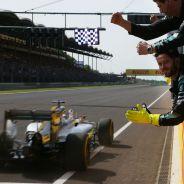 Hamilton ya es el piloto con más victorias de la historia en el Hungaroring - LaF1