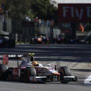 Rio Haryanto con el GP2 de Campos Racing en Monza - LaF1