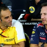 Cyril Abiteboul y Christian Horner - LaF1