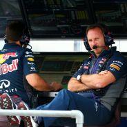 Horner en el muro de Red Bull - LaF1.es