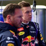 Christian Horner y Daniil Kvyat - LaF1