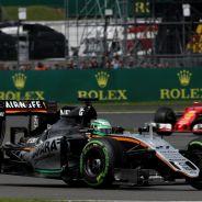 Force India terminó en sexta y séptima posición en Silverstone - LaF1