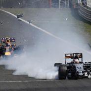 El alerón delantero de Hülkenberg se desprendió en plena carrera - LaF1
