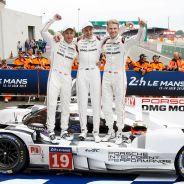 Los tres vencedores de las 24 horas de Le Mans - LaF1
