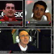 Grosjean se acuerda de Bianchi y Senna para su equipo ideal - LaF1