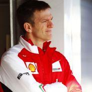 James Allison en el 'motorhome' de Ferrari - LaF1es