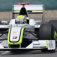 Jenson Button a los mandos de su Brawn GP - LaF1