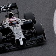 Jenson Button en los test de Catalunya - LaF1.es
