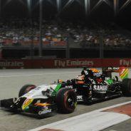Hülkenberg en el GP de Singapur de 2014 - LaF1