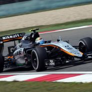 Sergio Pérez en el Force India - LaF1