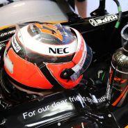 Nico Hülkenberg no pudo ni efectuar la salida - LaF1