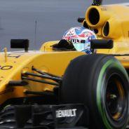 Jolyon Palmer y Kevin Magnussen en Silverstone - LaF1