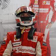 Jules Bianchi vestido de Ferrari - LaF1.es